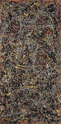Jackson Pollock, Number 5 Fine Art Reproduction Oil Painting