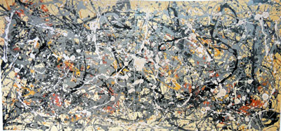 Jackson Pollock, Number 8, 1949 Fine Art Reproduction Oil Painting