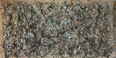 Jackson Pollock, One: Number 31 1950 Fine Art Reproduction Oil Painting