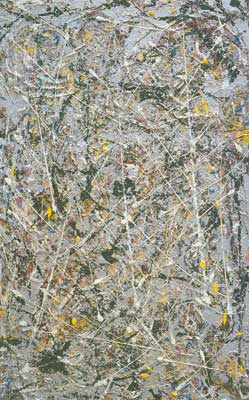 Jackson Pollock, Phosphorescence Fine Art Reproduction Oil Painting