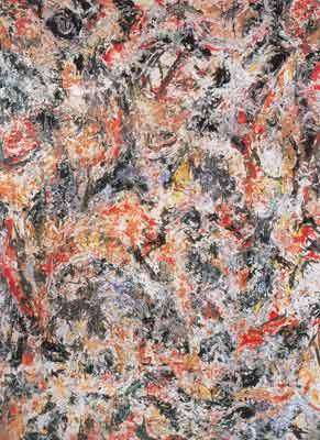 Jackson Pollock, Scent Fine Art Reproduction Oil Painting