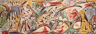 Jackson Pollock, The Water Bull Fine Art Reproduction Oil Painting