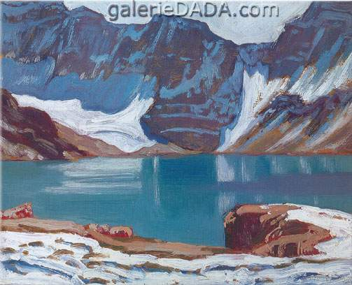 James E. H. MacDonald, Lake McArthur Yoho Park Fine Art Reproduction Oil Painting