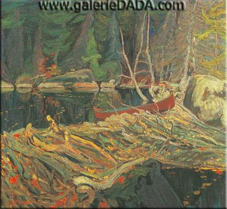 James E. H. MacDonald, The Beaver Dam Fine Art Reproduction Oil Painting