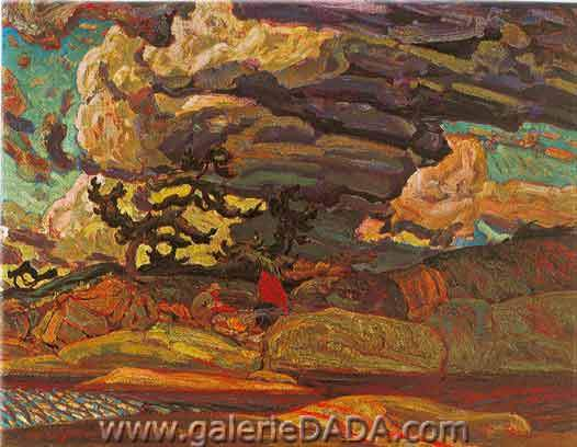 James E. H. MacDonald, The Elements Fine Art Reproduction Oil Painting