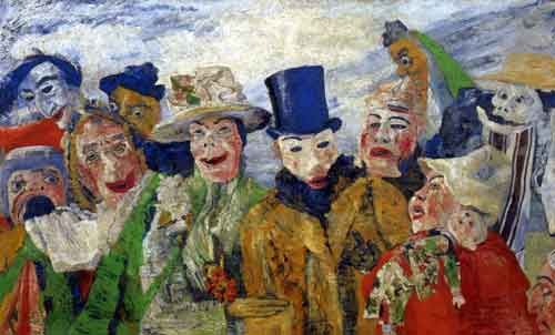 James Ensor, The Intrigue Fine Art Reproduction Oil Painting