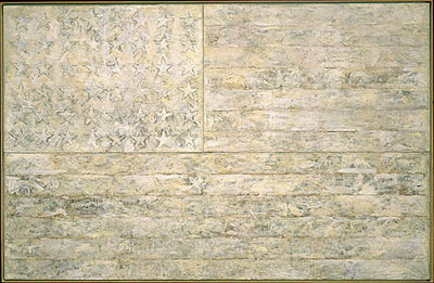 Jasper Johns, White Flag Fine Art Reproduction Oil Painting