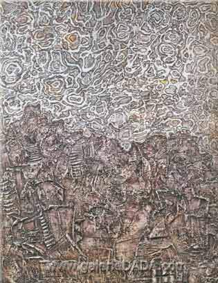 Jean Dubuffet, Ecstasy in the Sky Fine Art Reproduction Oil Painting