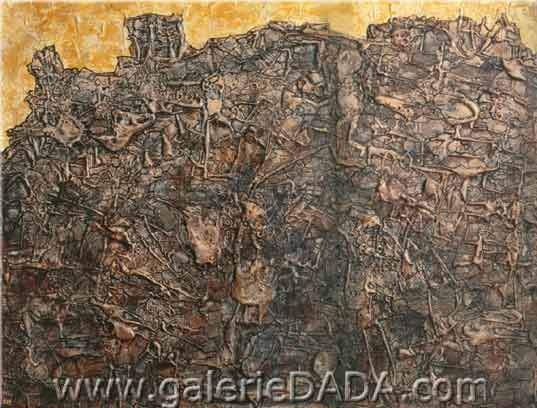 Jean Dubuffet, Traveller without a Compass Fine Art Reproduction Oil Painting