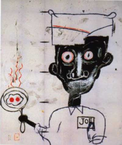 Jean-Michel Basquiat, Eyes and Eggs Fine Art Reproduction Oil Painting