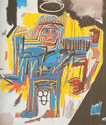 Jean-Michel Basquiat, Pater Fine Art Reproduction Oil Painting