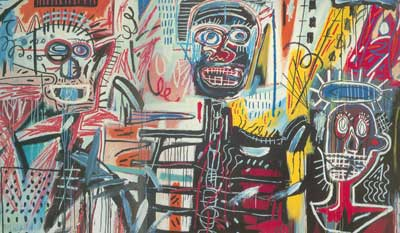 Jean-Michel Basquiat, Philistines Fine Art Reproduction Oil Painting