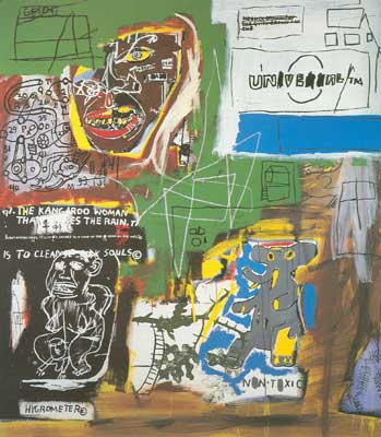 Jean-Michel Basquiat, Sienna Fine Art Reproduction Oil Painting