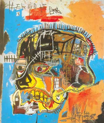 Jean-Michel Basquiat, Skull Fine Art Reproduction Oil Painting