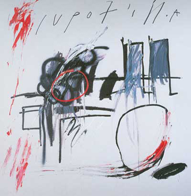 Jean-Michel Basquiat, Unititled (Upof) Fine Art Reproduction Oil Painting