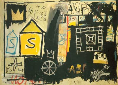 Jean-Michel Basquiat, Unititled (S) Fine Art Reproduction Oil Painting
