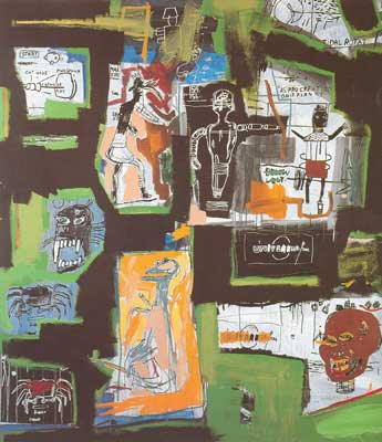 Jean-Michel Basquiat, Unititled Fine Art Reproduction Oil Painting