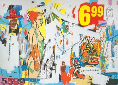Jean-Michel Basquiat, Unititled (6.99) Fine Art Reproduction Oil Painting