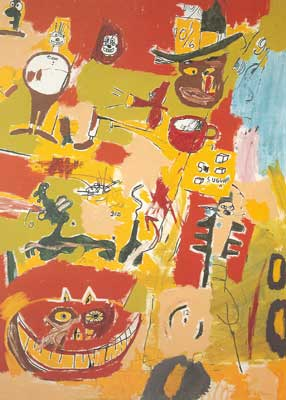 Jean-Michel Basquiat, Wine of Babylon Fine Art Reproduction Oil Painting