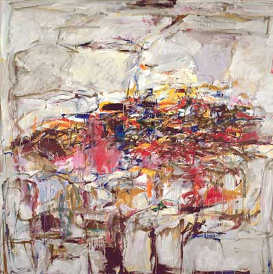 Joan Mitchell, City Landscape Fine Art Reproduction Oil Painting