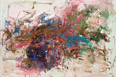 Joan Mitchell, Grandes Carrieres Fine Art Reproduction Oil Painting