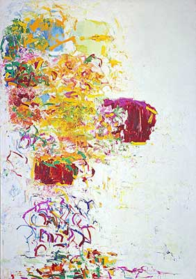 Joan Mitchell, Sunflower III Fine Art Reproduction Oil Painting