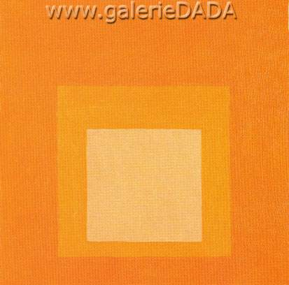 Josef Albers, Homage to the Square II Fine Art Reproduction Oil Painting