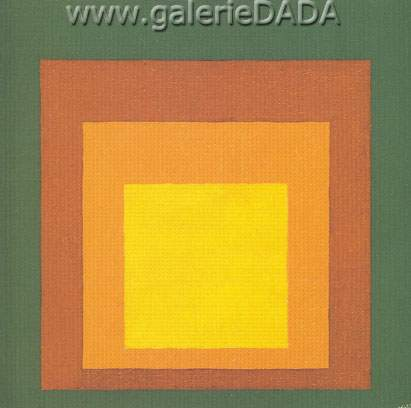 Josef Albers, Study for Homage to the Square Fine Art Reproduction Oil Painting