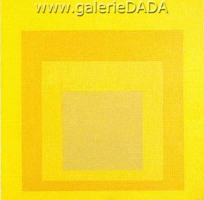 Josef Albers, Study for Homage to the Square Golden Membrane Fine Art Reproduction Oil Painting