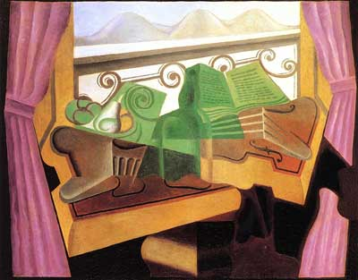 Open Window with Hills - Juan Juan, Fine Art Reproduction Oil Painting