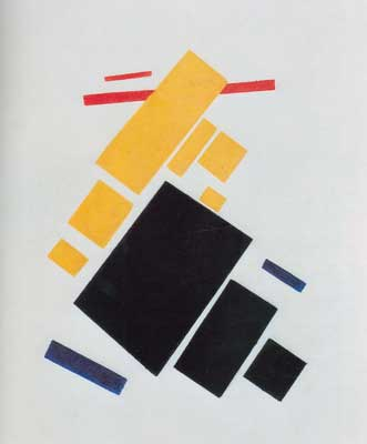 Kasimar Malevich, Airplane Flying Fine Art Reproduction Oil Painting