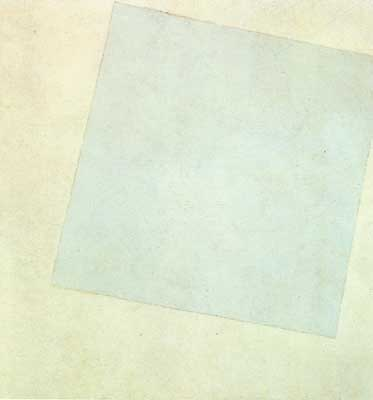 Kasimar Malevich, Suprematist Composition White on White Fine Art Reproduction Oil Painting