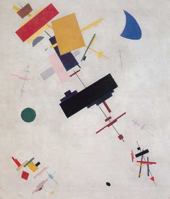 Kasimar Malevich, Supremus No 56 Fine Art Reproduction Oil Painting