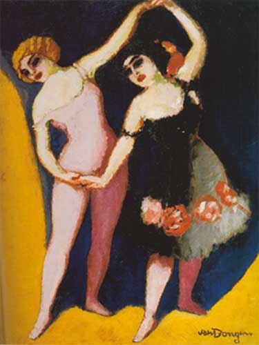 Kees van Dongen, The Dancers - Revel and Coco Fine Art Reproduction Oil Painting