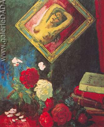 Kees van Dongen, The Flowers of Evil Fine Art Reproduction Oil Painting