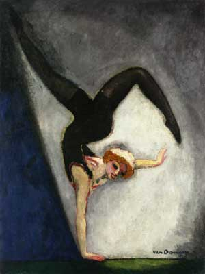 Kees van Dongen, The Gymnast Fine Art Reproduction Oil Painting