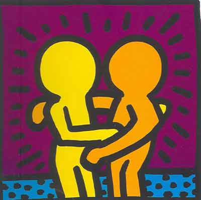 Keith Haring, Unititled (4) Fine Art Reproduction Oil Painting