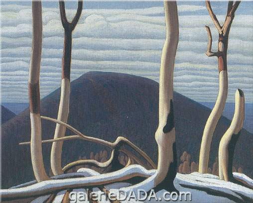 Lawren Harris, Above Lake Superior Fine Art Reproduction Oil Painting
