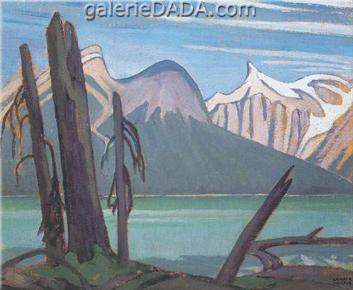 Lawren Harris, Emerald Lake Rocky Mountains Fine Art Reproduction Oil Painting