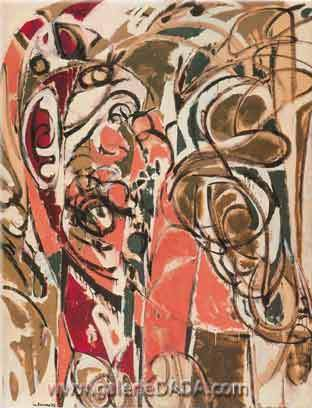 Lee Krasner, Cornucopia Fine Art Reproduction Oil Painting