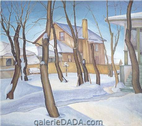 Lionel FitzGerald, Doc Snyders House Fine Art Reproduction Oil Painting