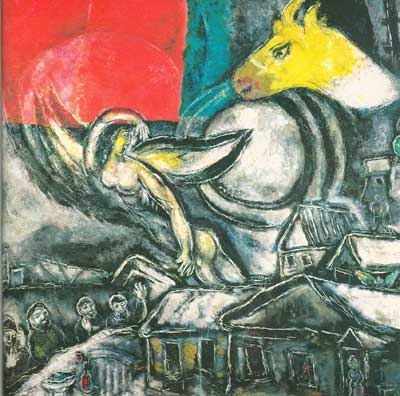 Marc Chagall, Easter Fine Art Reproduction Oil Painting