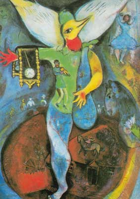 Marc Chagall, The Juggler Fine Art Reproduction Oil Painting
