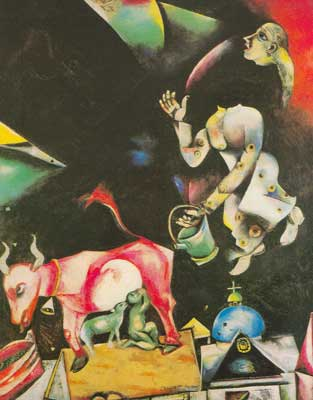 Marc Chagall, To Russia, Asses, and Others Fine Art Reproduction Oil Painting