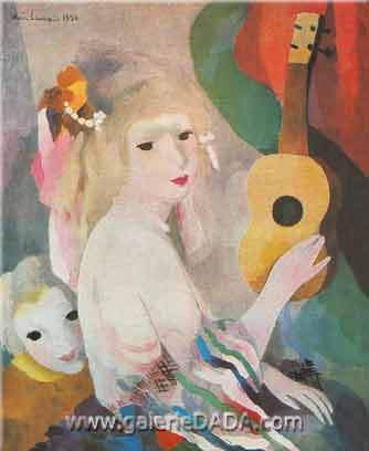 Marie Laurencin, Arabesque Fine Art Reproduction Oil Painting