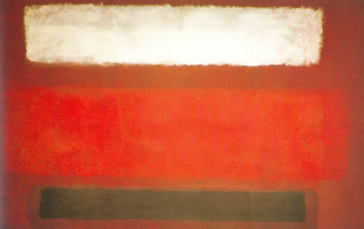 Mark Rothko, Black, Maroon and White Fine Art Reproduction Oil Painting
