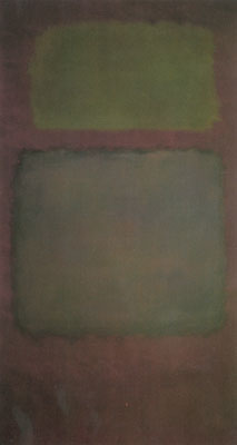 Mark Rothko, Dark Grey Tone on Maroon Fine Art Reproduction Oil Painting