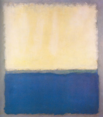 Mark Rothko, Light, Earth and Blue Fine Art Reproduction Oil Painting
