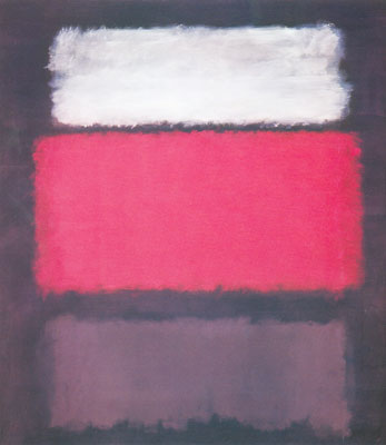 Mark Rothko, Number 1, White and Red Fine Art Reproduction Oil Painting