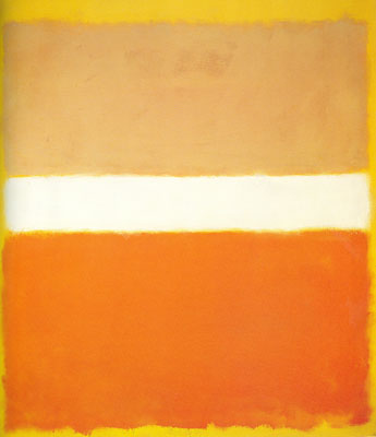 Mark Rothko, Number 16 Fine Art Reproduction Oil Painting